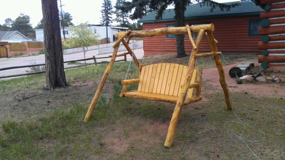 Williams Log Cabin Furniture - Outdoor Log Furniture