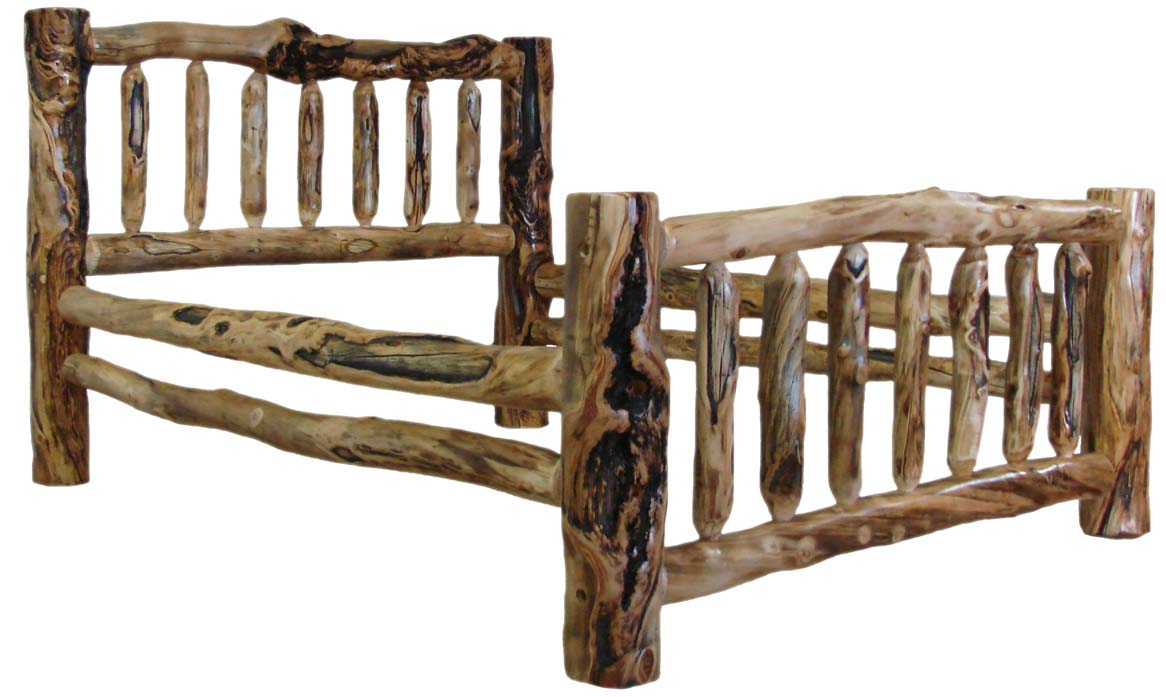 Marvelous Williams Log Cabin Furniture   Colorado Aspen Log Beds, Headboards, And  Frames