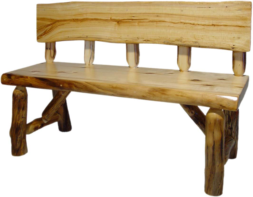 Williams Log Cabin Furniture Benches